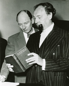 John Gielgud and Ralph Richardson