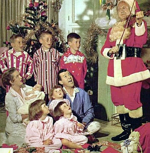 Jack Benny Plays His Violin at Christmas