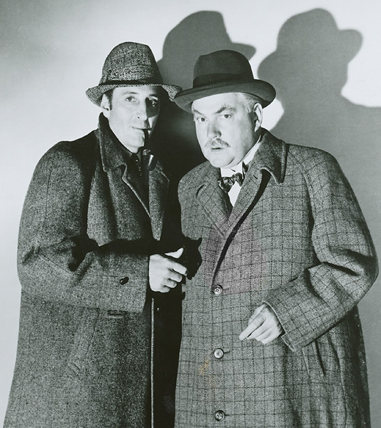 Image result for images of nigel bruce in the adventures of sherlock holmes